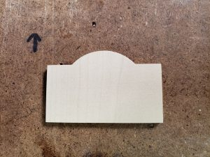 Maple Name Tag Blank