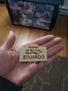 Maple Name Tag Lasered