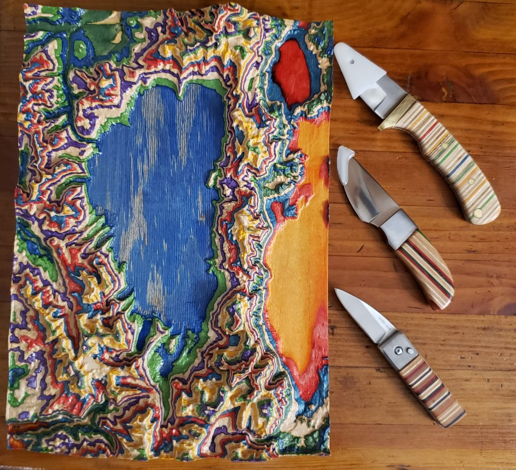 Topographical and Knives