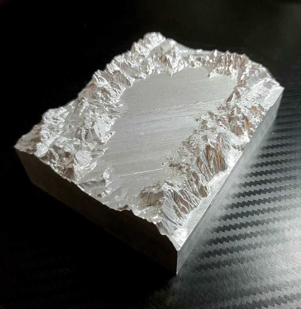 Aluminum Tahoe Topo
