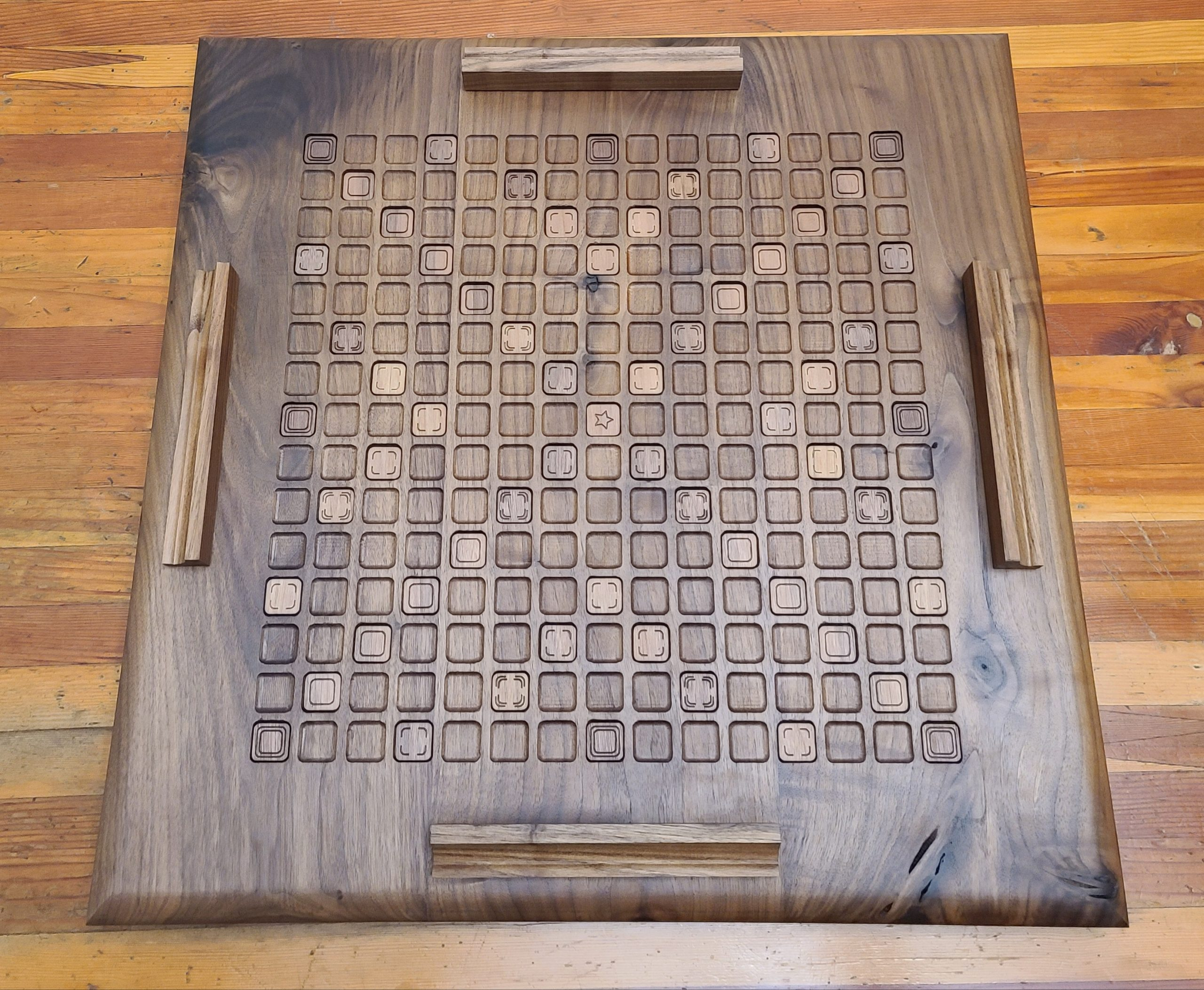 Walnut Game Board
